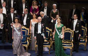 Sofía Hellqvist, lista para su 'puesta de largo' en los Premios Nobel