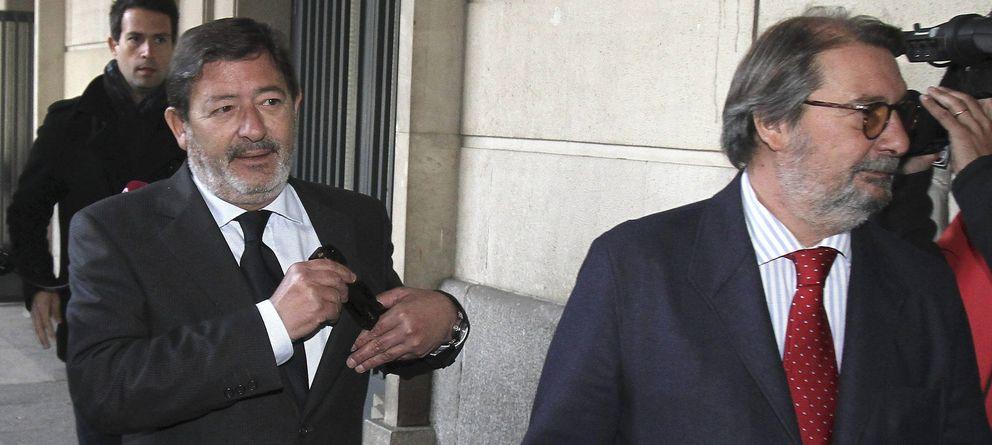 Foto: Francisco Javier Guerrero junto a su abogado Fernando de Pablo. (Efe)
