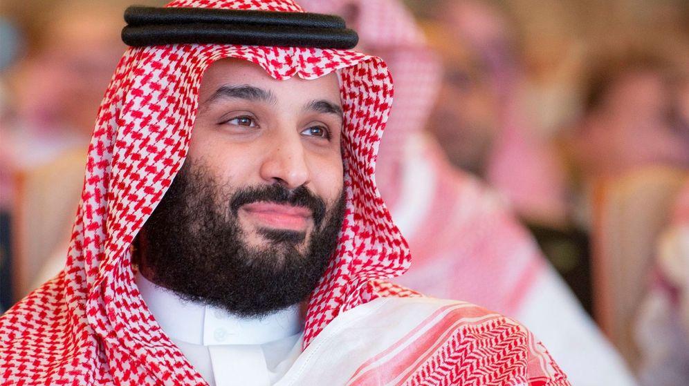 Foto: Mohamed bin Salman, príncipe heredero saudí, en el foro económico Future Investment Initiative. (EFE)