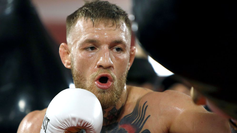 Foto: McGregor practicó boxeo de joven como amateur. (Reuters)
