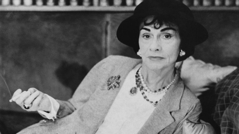Coco Chanel, en 1962. (Getty)