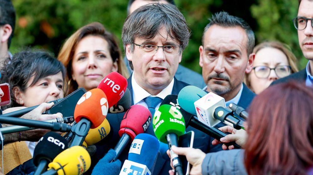 Foto: El expresidente catalán Carles Puigdemont. (EFE)