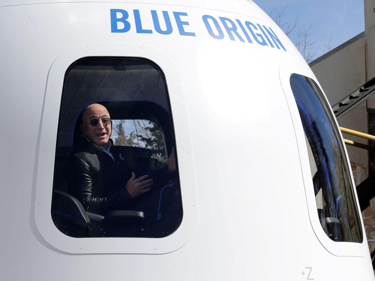 Foto: El fundador de Amazon, Jeff Bezos, viajará al espacio el 20 de julio (Reuters/Isaiah J. Downing)