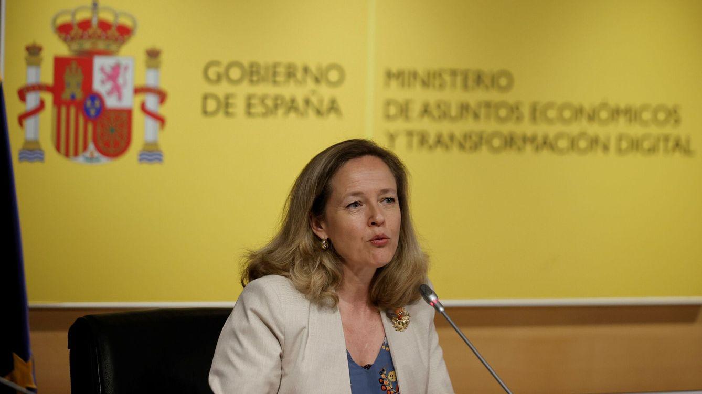 Foto: La vicepresidenta primera del Gobierno, Nadia Calviño. (EFE)
