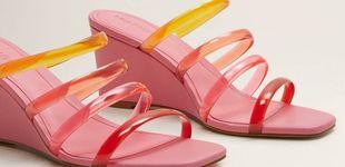 Post de Low cost: Las sandalias de tiras de plástico que adoras están en Mango