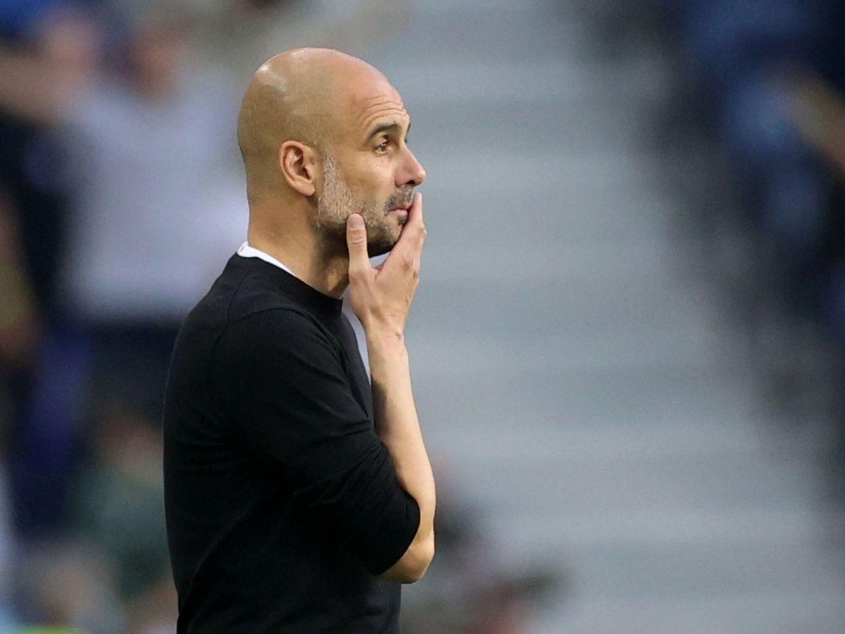 Foto: Guardiola, durante la final de Champions. (Reuters)