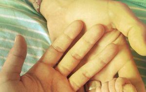 Raquel del Rosario da a luz a su hijo en su propia casa