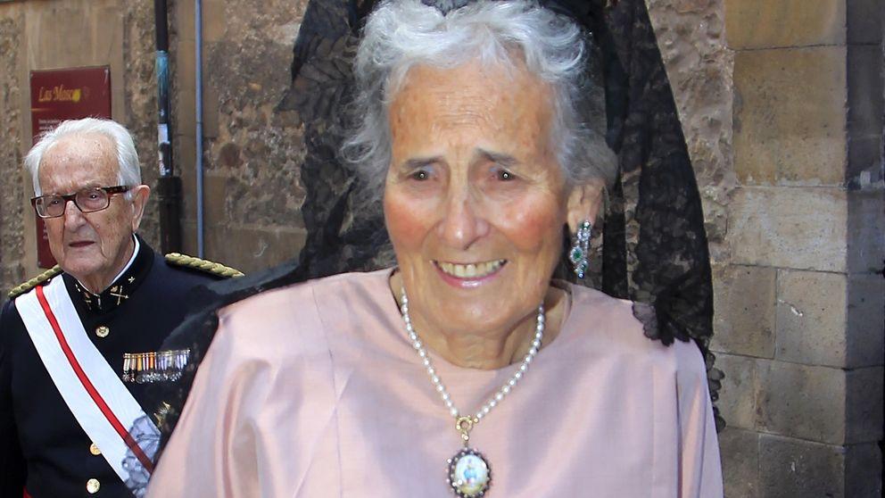 La condesa de Ripalda, la madre y también padre de los Marichalar