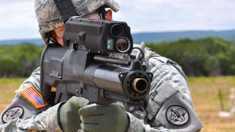 Foto: Pruebas de tiro con el lanzagranadas semiautomático 'inteligente' MX25.