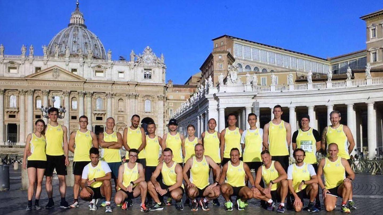 El club de atletismo del Vaticano dio sus primeros pasos en septiembre de 2017. (Foto: Athletica Vaticana)