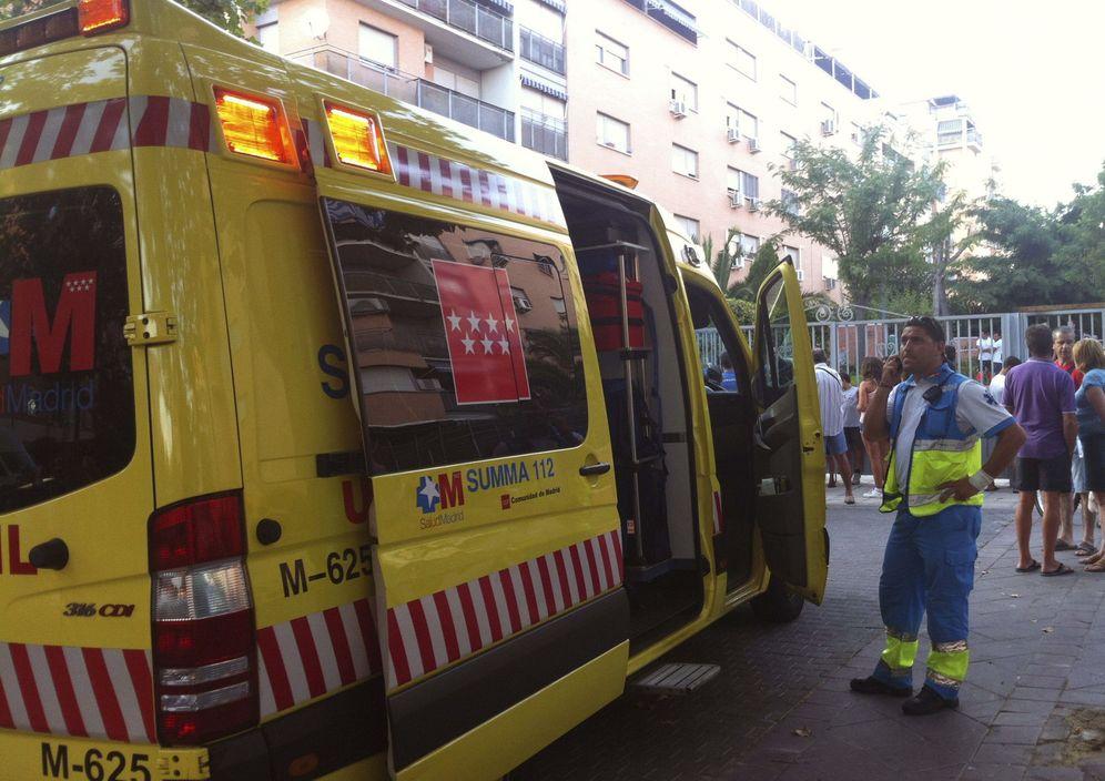 Foto: Un vehículo del SUMMA 112 en Madrid. (EFE)