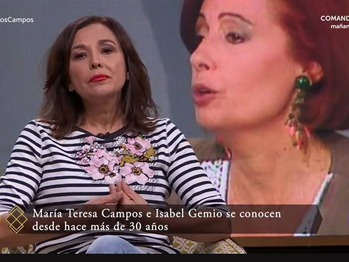 Foto: Isabel Gemio, en 'Lazos de sangre'. (TVE)