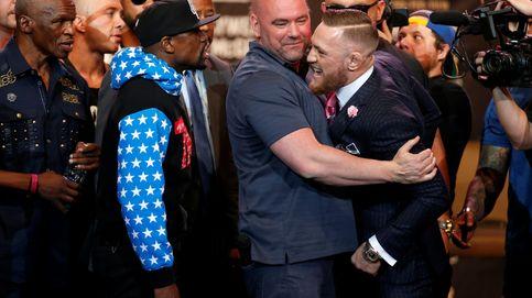 El cacareo de Mayweather y McGregor en su primer cara a cara