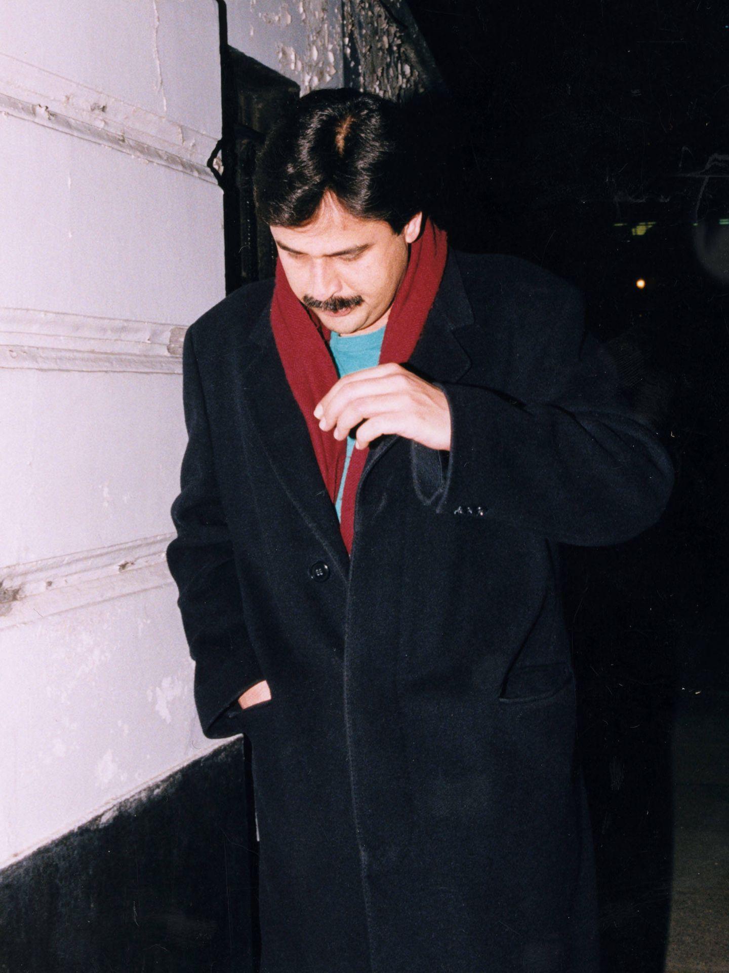 Hasnat Khan, en 1996. (Getty)