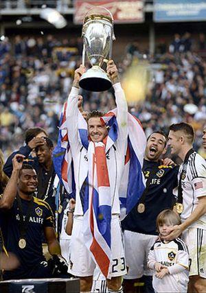 David Beckham se despide de Los Angeles Galaxy como campeón de la MLS