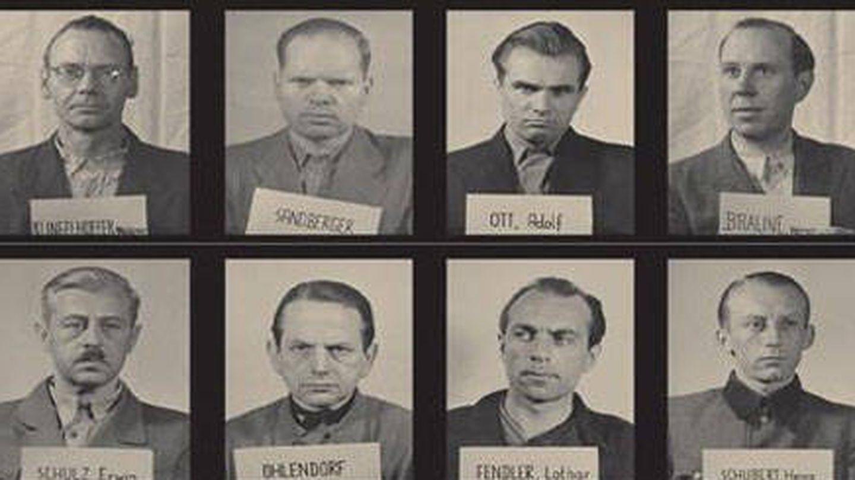 Acusados de Einsatzgruppen en los juicios de Núremberg | Septiembre 1947