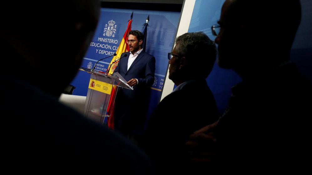 Foto: El exministro de Cultura Màxim Huerta anuncia su dimisión. (Reuters)