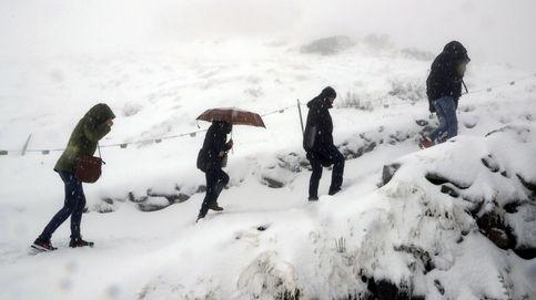Primera nevada en los montes Tatra