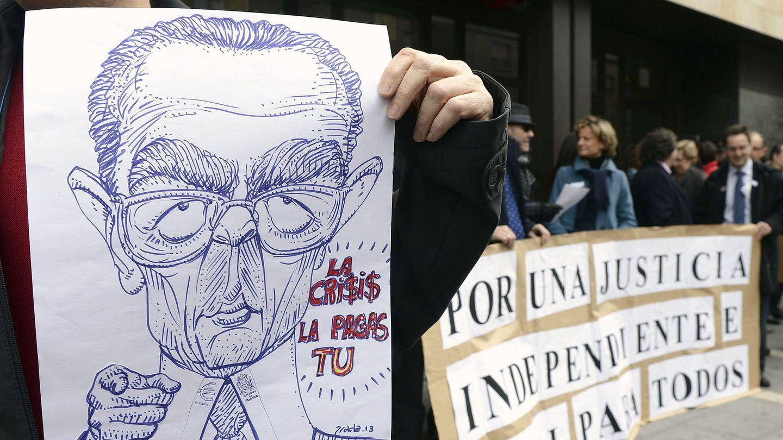 Huelga de jueces y fiscales. (EFE)