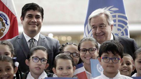 Guterres y Alvarado hablan sobre democracia