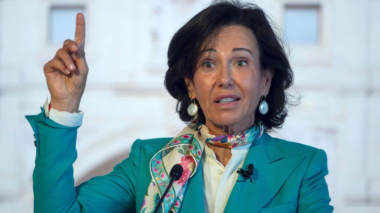 Ana Botín, presidenta de Banco Santander. (EFE)