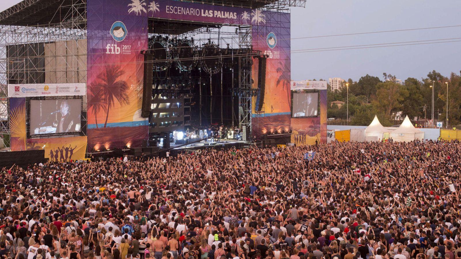 Foto: Festival Internacional de Benicàssim 2017. (EFE)