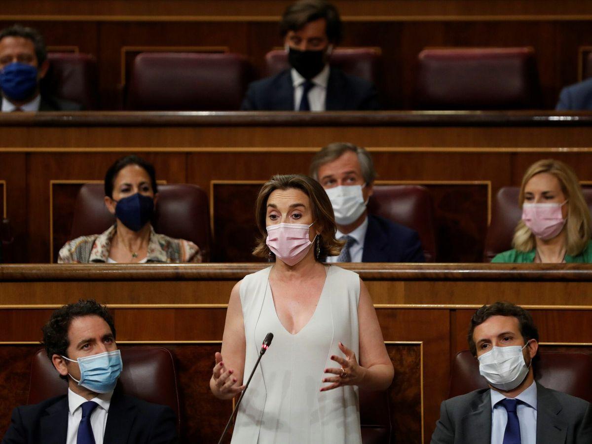 Foto: La portavoz parlamentaria popular, Cuca Gamarra. (EFE)