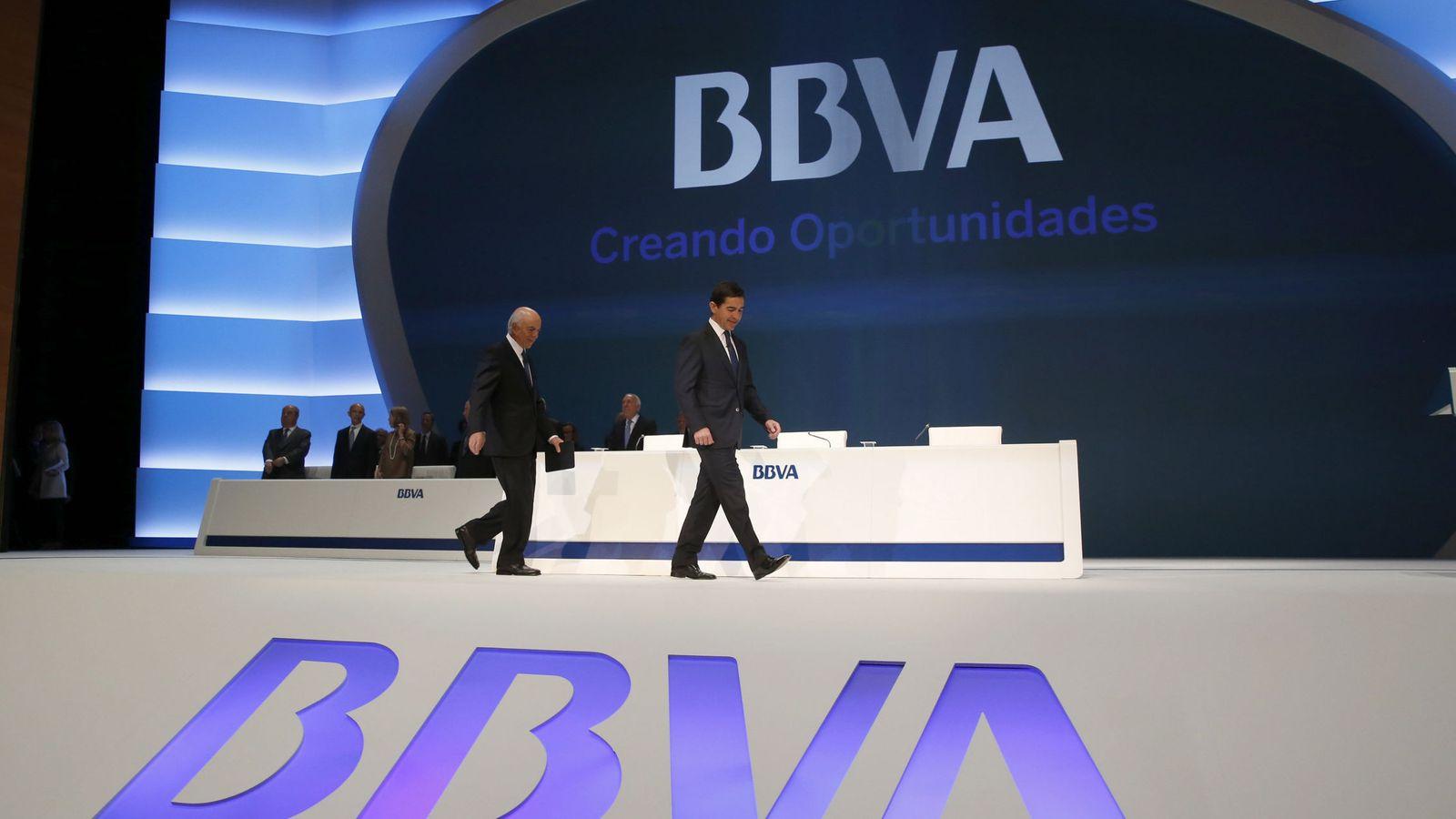 Foto: Junta General de Accionistas del BBVA. (EFE)=