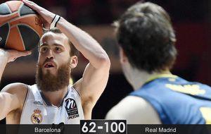 El Madrid destroza la historia con la mayor derrota sufrida por el Barça