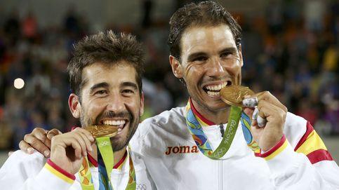 Rafa Nadal y Marc López ganan el oro en dobles ante el 21,5%