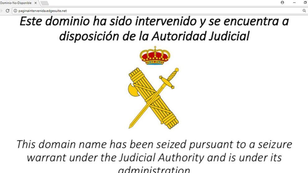 Nueva orden judicial para que las operadoras bloqueen 22 dominios web del referéndum