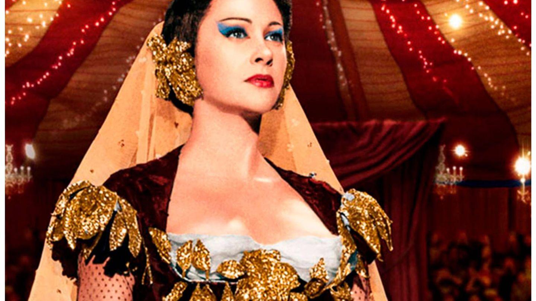 Fotograma de 'Lola Montes', última película de Conchita Montenegro. (Unionfilms)