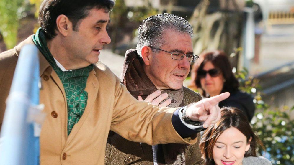 Foto: El exconsejero de la Comunidad de Madrid Francisco Granados (c). (EFE)