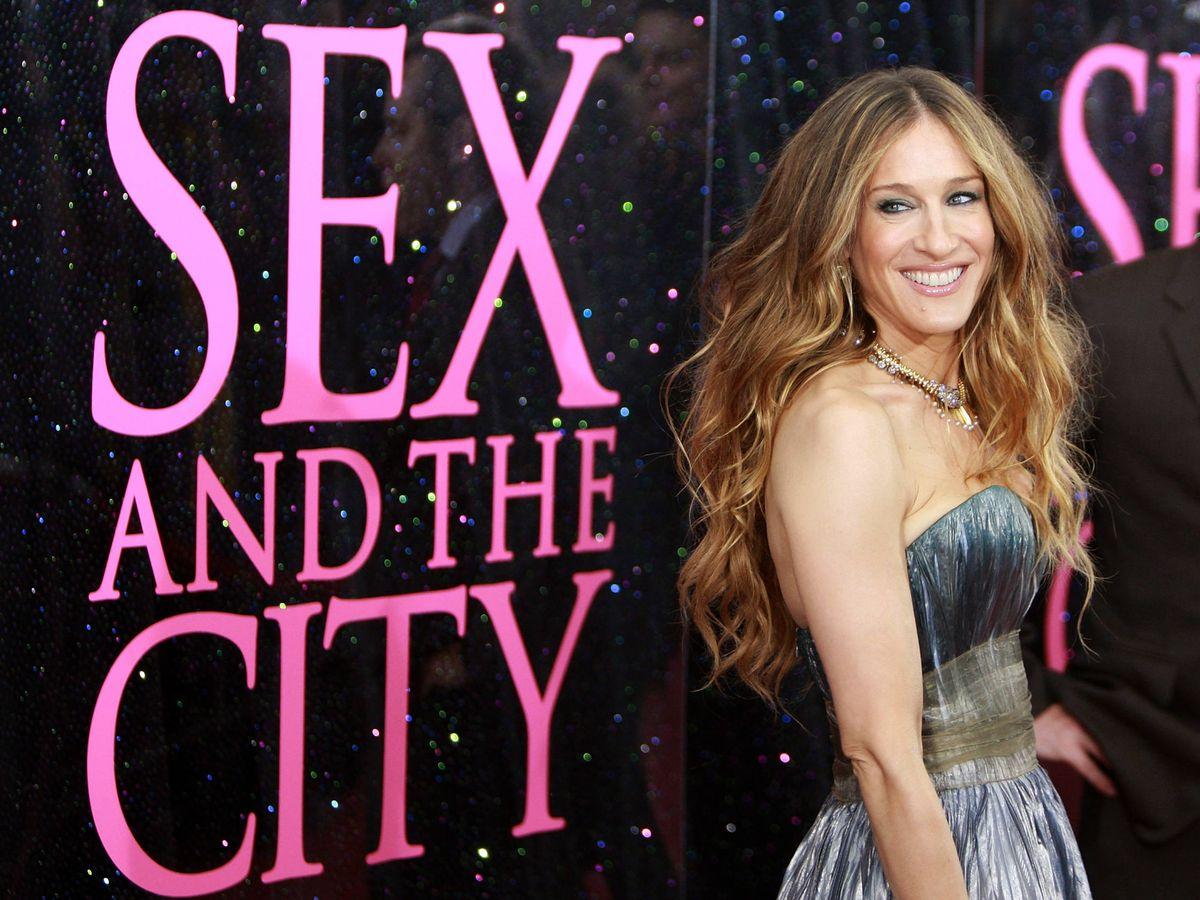 Foto: Sarah Jessica Parker, en el estreno de la película 'Sex and the City'. (Getty)