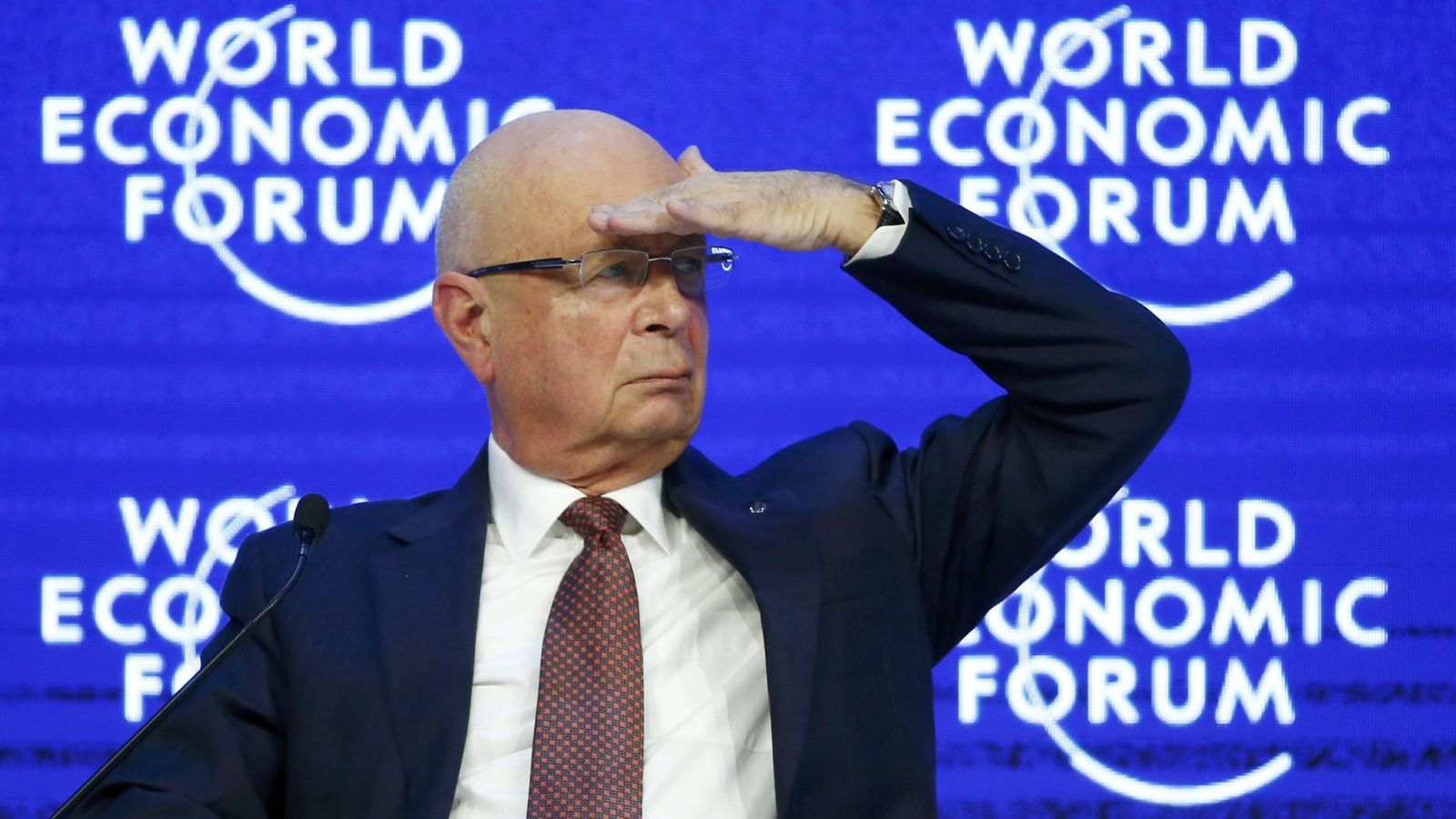 Foto: Klaus Schwab, fundador y director general del Foro de Davos. (Reuters)