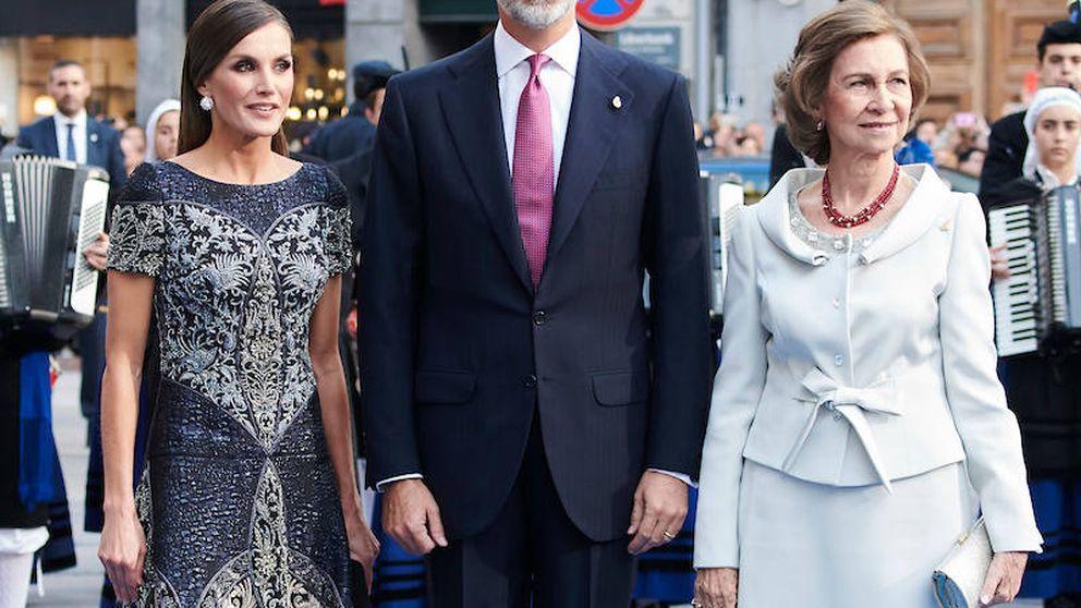 'God save Varela': el vestidazo de Letizia en los Princesa de Asturias, una obra de arte