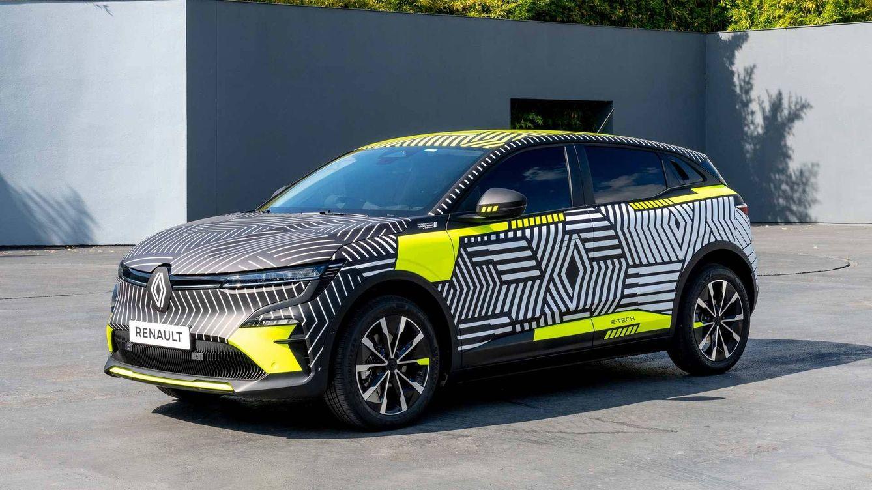 Foto: El nuevo Renault Megane 100% eléctrico se fabricará en Douai, dentro de este polo industrial RernaultCity.