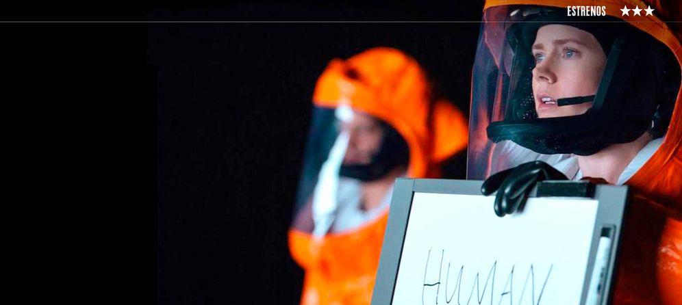 Foto: Amy Adams protagoniza 'La llegada', de Denis Villeneuve.