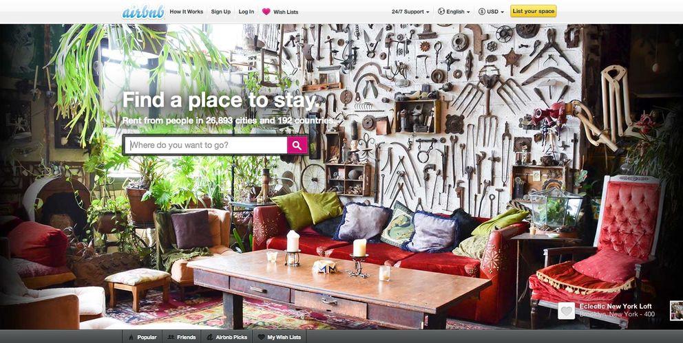 Foto: El sector hotelero, contra Airbnb: Hay quienes viven en la economía sumergida