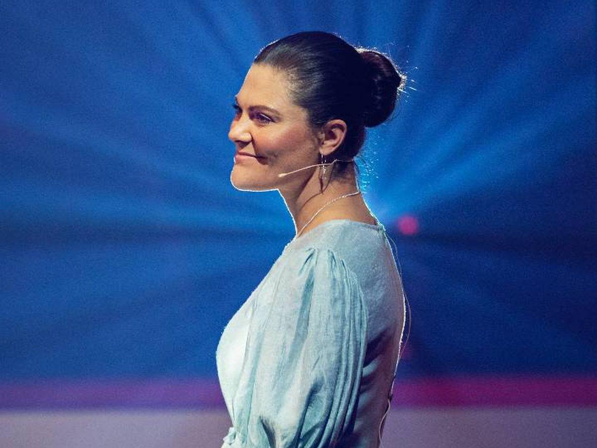 Foto:  Victoria de Suecia, en la entrega de los premios. (Astrid Lindgren Memorial Award)
