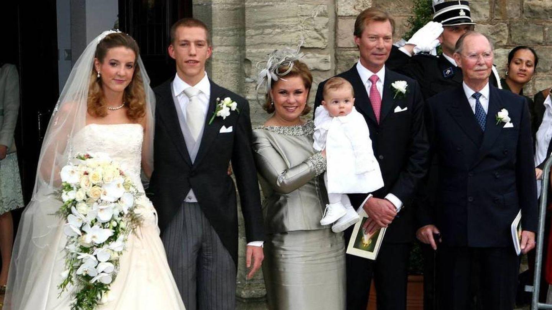 La boda de Louis y Tessy de Luxemburgo. (EFE)