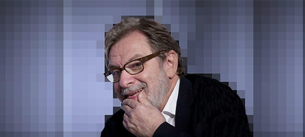 Foto: Juan Luis Cebrián, el académico que se deshizo de la literatura