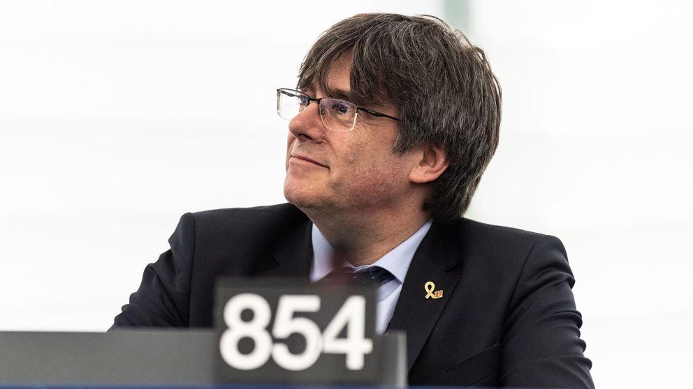 El Parlamento Europeo podrá embargar el sueldo a Puigdemont si no paga por el 1-O