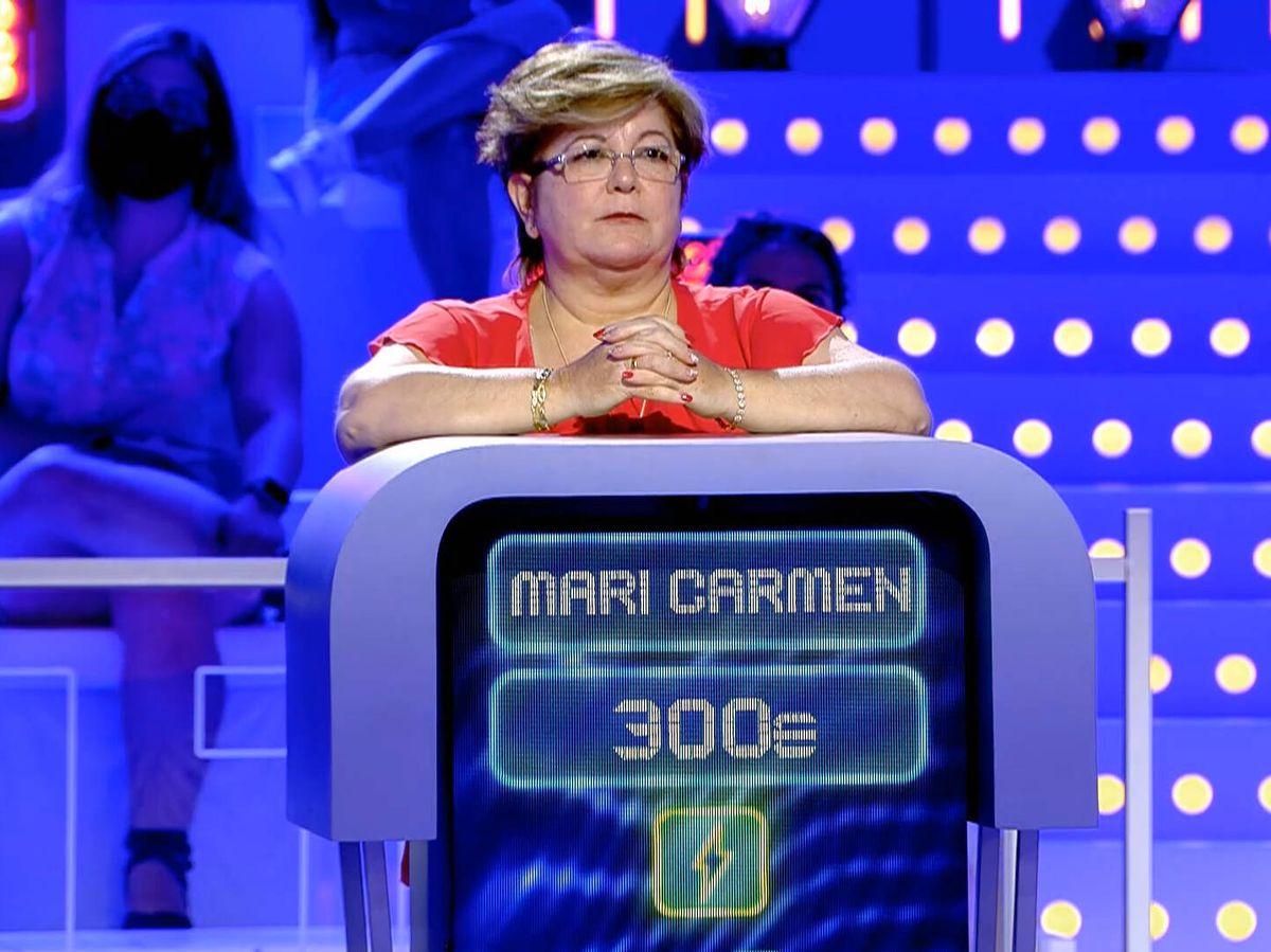 Foto: Mari Carmen, en 'Alta tensión'. (Telecinco)