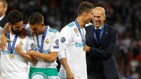 Zidane abre la puerta en 'Sky Italia' a que Cristiano regrese al Madrid en verano