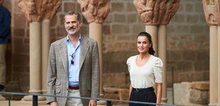 Post de Las alpargatas (ideales) de Castañer que la reina Letizia ha estrenado en Huesca