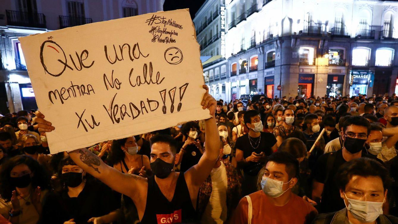 Foto: Manifestación en Madrid en contra de la homofobia. (Reuters)