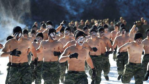 Entrenamiento invernal extremo en Corea del Sur