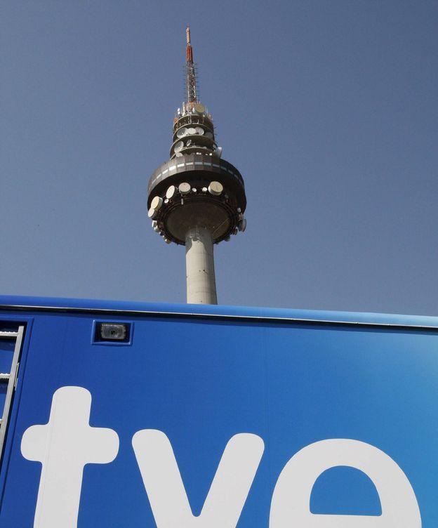 Foto: Torrespaña, sede de los informativos de TVE. (EFE)
