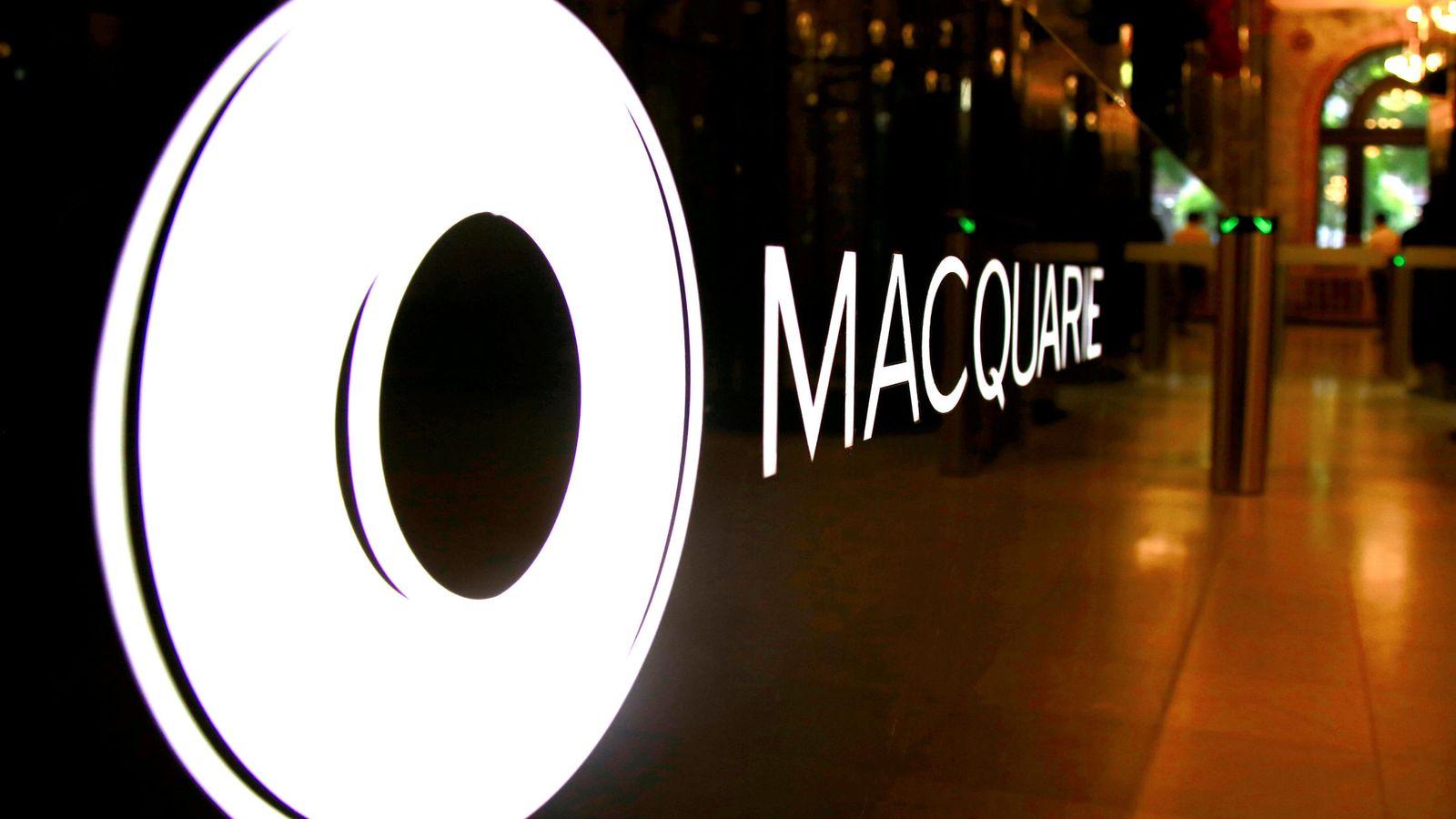 Foto: Logo del banco de inversión australiano Macquarie. (Reuters)